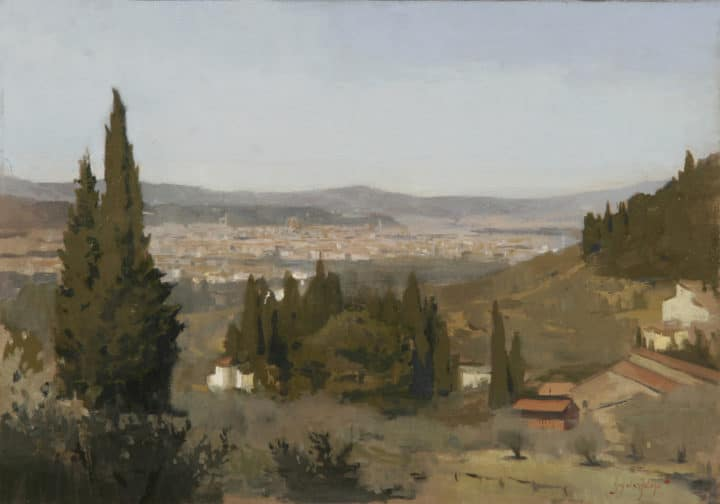 View of Florence, from Settignano