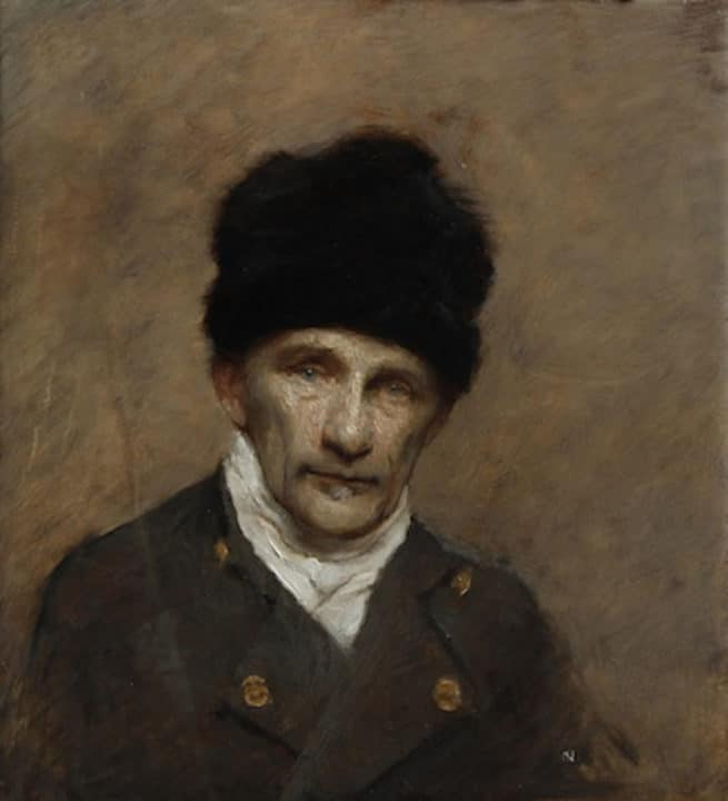 Chimney Sweep with Fur Hat