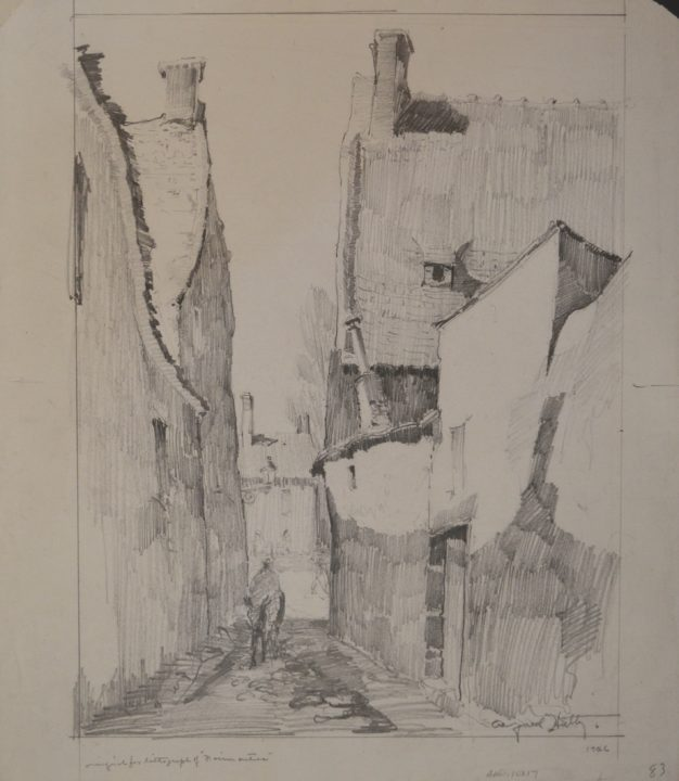 Study for Lithograph of Noirmoutier