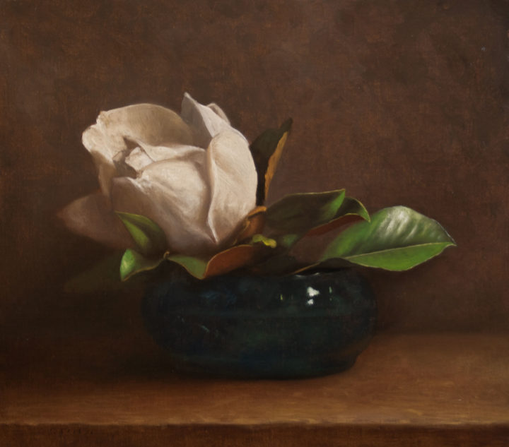 Magnolia in a Glass Bowl