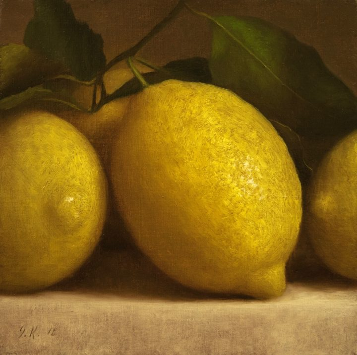 Lemons on Cloth