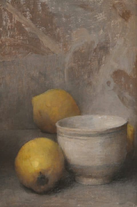 Quinces on Grey