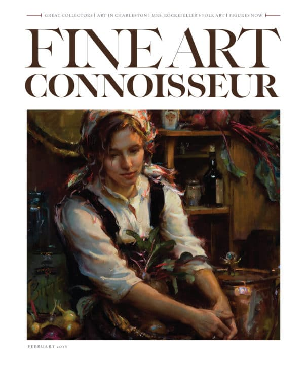 "Fine Art Connoisseur ""Southern Charms, Art in Charleston"""