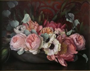 Roses, Peonies and Anemones