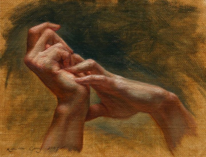 Self Portrait, Hands