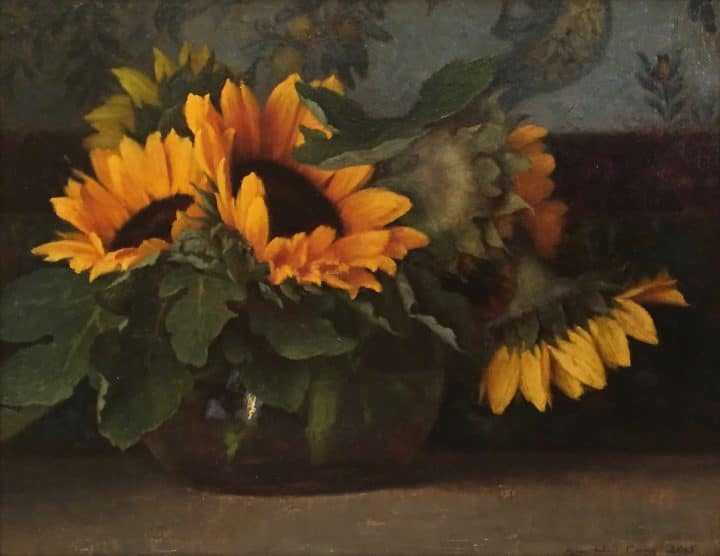 Sunflowers and Fig Leaves