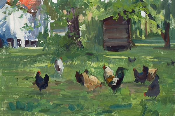 Carmen's Chickens No. 2
