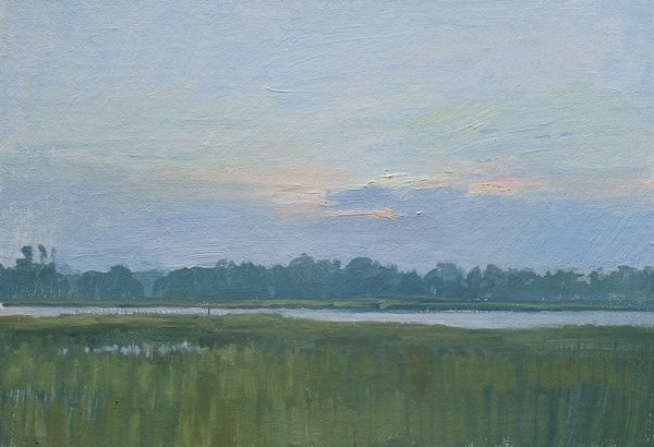 Dawn on the Marsh