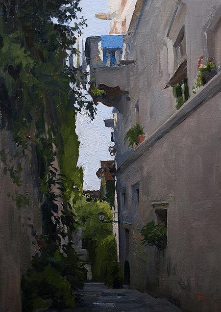 Street in Korcula