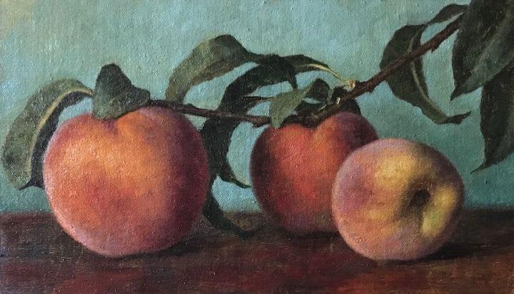 Garden Peaches III