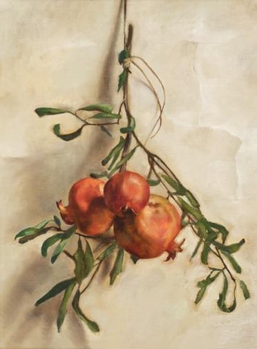 Hanging Pomegranates