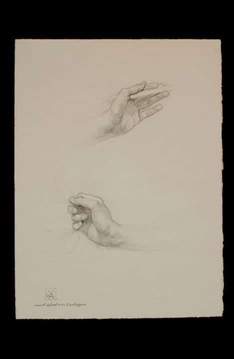 MF21 Hand Studies: Calliope