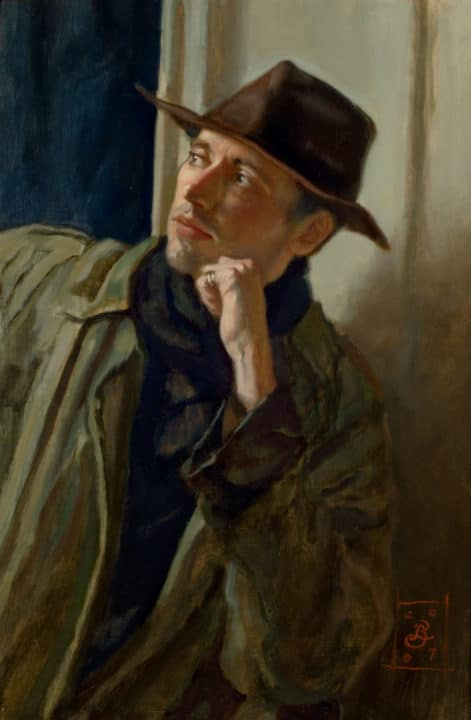Portrait of James Hopper