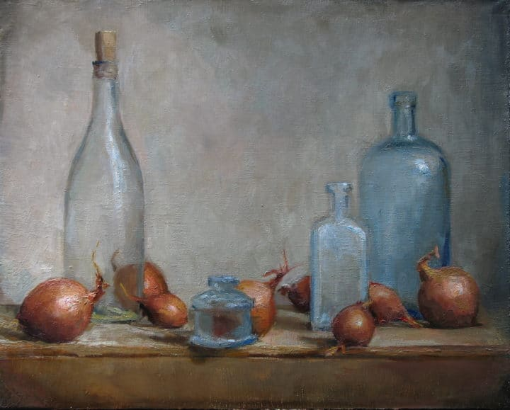 Composition with Onions and Glass