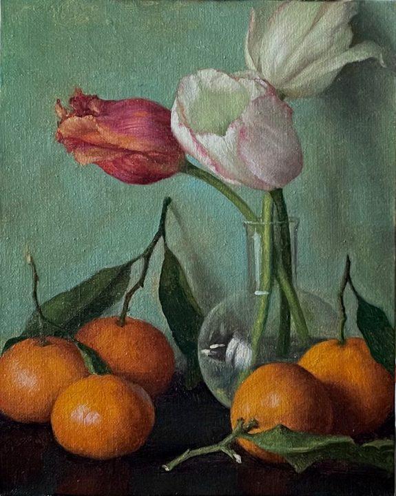 Mandarins and Tulips