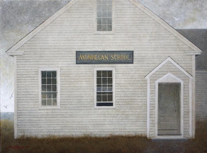 Monhegan Island School House