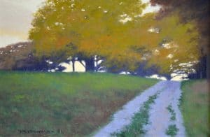 Through the Autumn Oaks