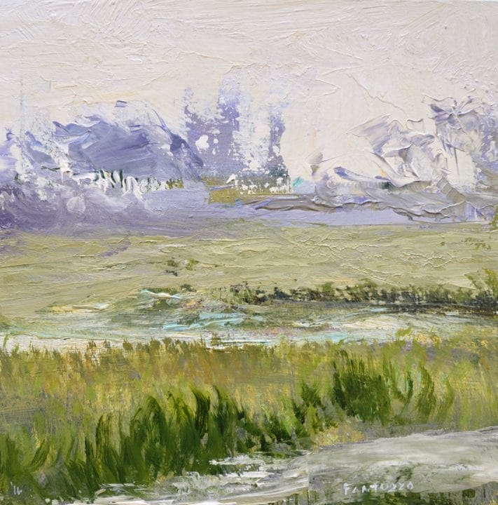 Lavender Tree Line