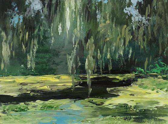 Moss at Middleton Garden Ponds