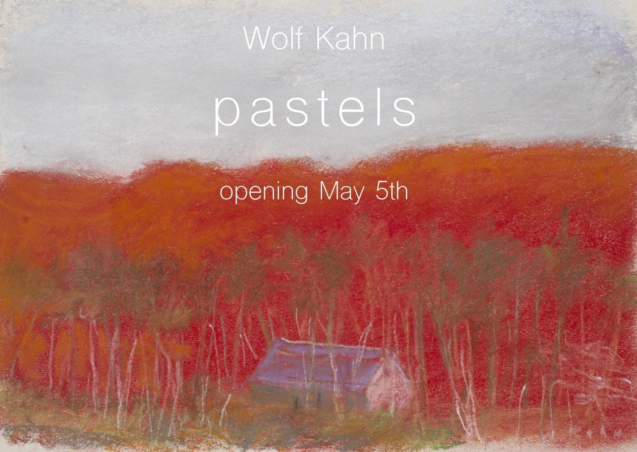 Wolf Kahn: Pastels