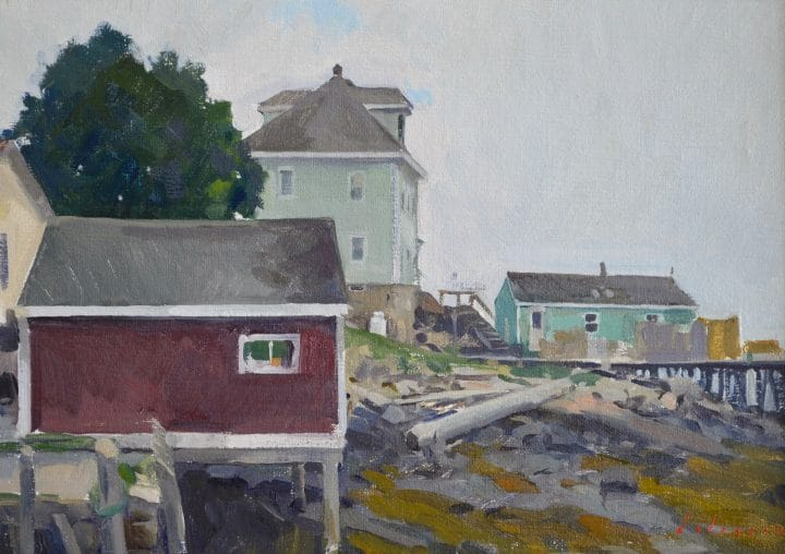 Grey Day, Stonington
