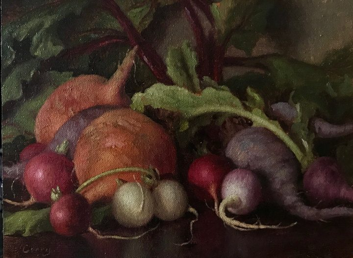 Beets and Easter Radishes