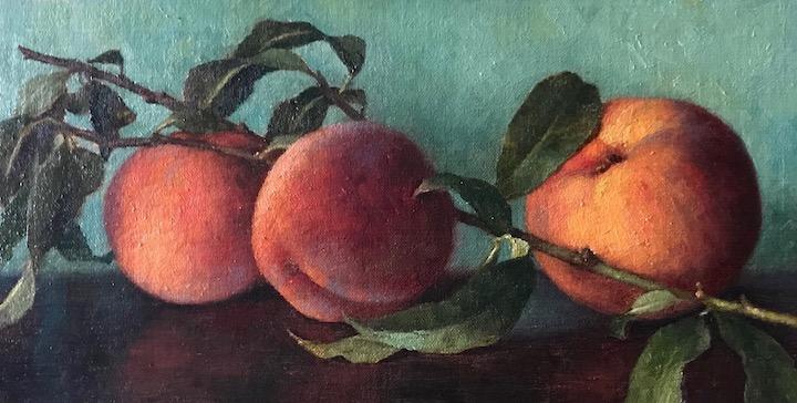 Garden Peaches I