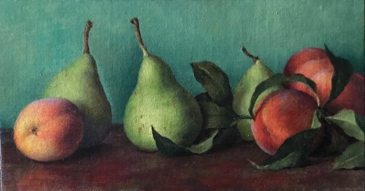 Anjou Pears and Peaches