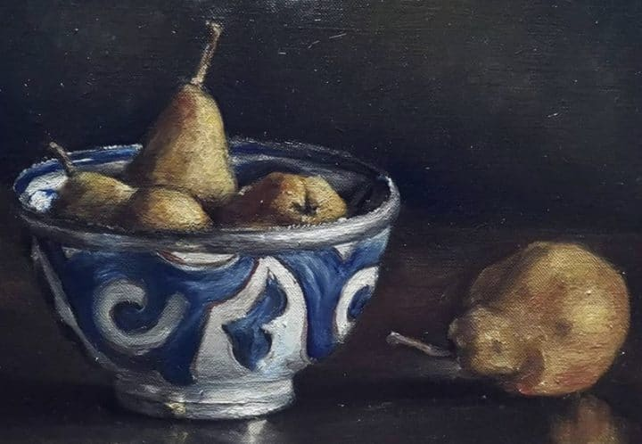 Moroccan Pot and Pears