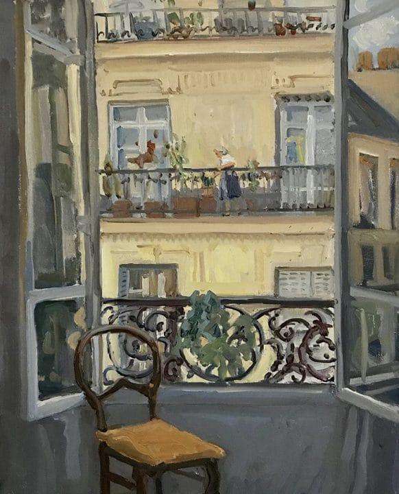 Paris Window View