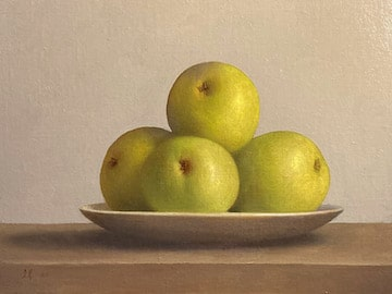 Pears with a Bowl